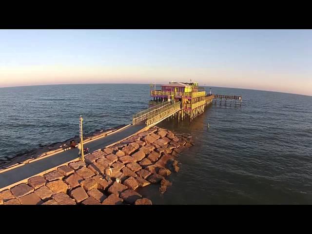 61st St. Pier on Galveston Island, Texas