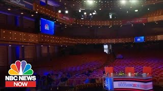 Behind The Scenes Of The First Democratic Presidential Debate Of 2020 | NBC News Now
