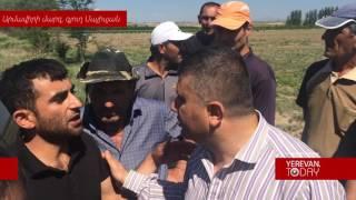 «Ջուր ենք ուզում, կեղտոտ ջուր»  Մայիսյանցիները փակել էին Արմավիր Երևան մայրուղին