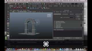 Maya 3d Modelling Tutorial - How To Model A Door Arch