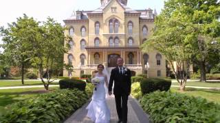 A Notre Dame Wedding