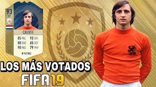 FIFA 19 - LOS ICONOS MÁS VOTADOS PARA LLEGAR A ULTIMATE TEAM EL PRÓXIMO AÑO