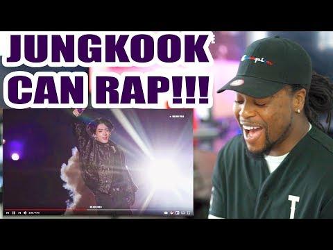 BTS MUSTER | JUNGKOOK RAP | Live Focus Cam - 땡 DDAENG | Reaction!!! 방탄소년단 정국 직캠