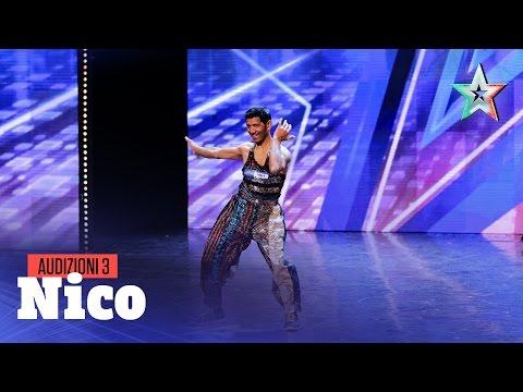 Nico, ballerino tuttofare
