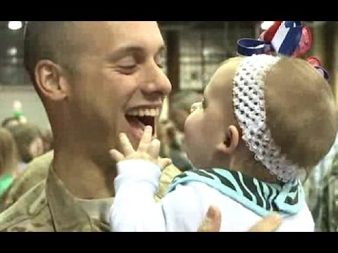 Babies Reaction To  Daddy Coming Home Videos Compilation 2016   NEW HD