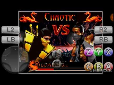 Mortal kombat chaotic android Shin Scorpion & Inferno