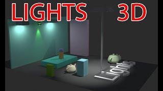 LIGHTS - 3D THIẾT KẾ HỆ THỐNG CHIẾU SÁNG TRONG 3D, CÁC TUYỆT CHIÊU CHIẾU SÁNG NGHỆ THUẬT 3dclass.net