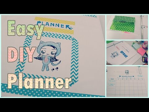 photograph regarding Diy Planner Organizer identified as Simple Do-it-yourself Planner/Plan/Organizer Lins Teahouse