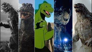 Эволюция Годзиллы в мультфильмах и кино