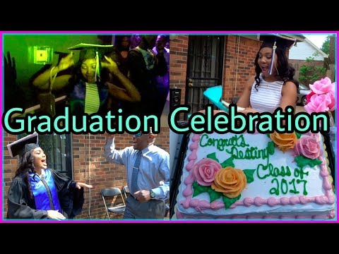 GRADUATION CELEBRATION: Family Gathering, Gift Opening & Going Out!
