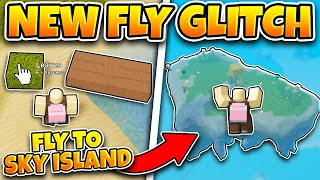 [NEW] OP FLY GLITCH! *FLY TO SKY ISLANDS!* (ROBLOX BOOGA BOOGA)