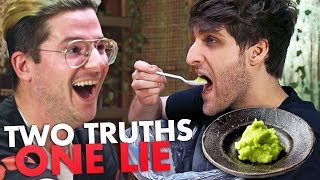 2 Truths and 1 Lie: Wasabi Challenge