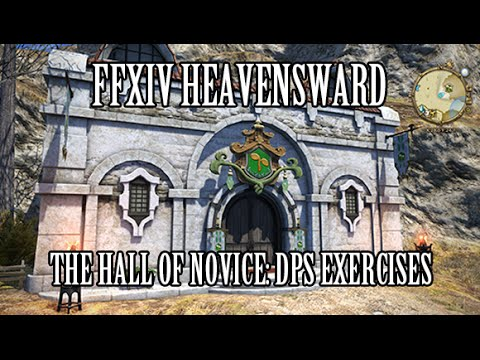 FFXIV Heavensward: Hall of Novice DPS Exercises, Rewards & Additional Tips