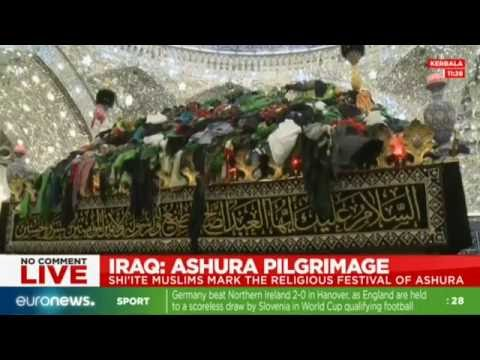 LIVE: Shiite Muslims mark Ashura religious festival in Iraq