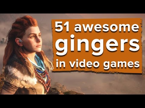 51 awesome gingers in video games