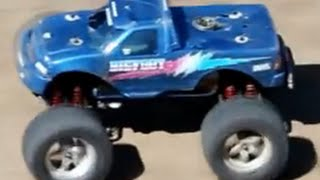 Traxxas T-Maxx Bishop California Track