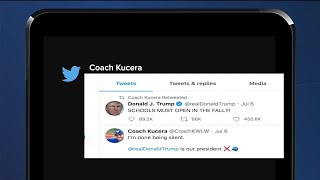 Walled Lake teacher sąys he was fired for tweet supporting Trump; school district denies that claim