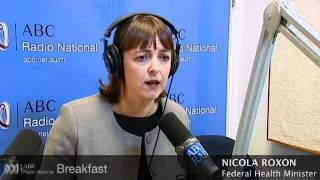 Health Minister on health funds, cigarettes, alcohol and TB - ABC Radio National Breakfast