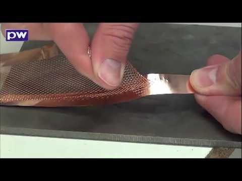 5.0AC, PG2 - Mesh to copper foil
