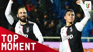 Higuaín and Dybala Combine for a Brilliant Goal Juventus 4 0 Udinese Top Moment Coppa Italia