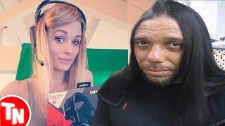 Streamer queima o cabelo sem querer AO VIVO, Bluezão reclama de Izzy Nobre