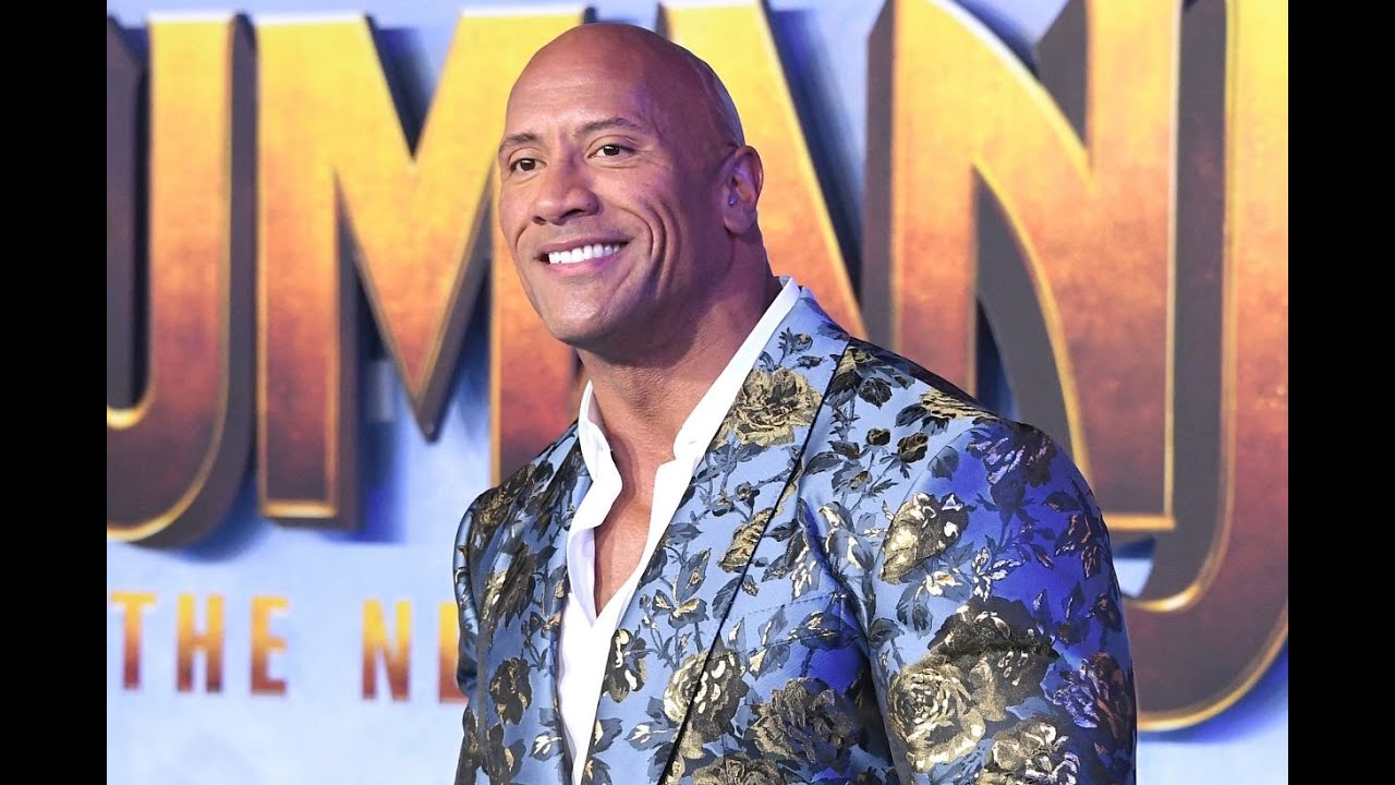 Dwayne Johnson says people thought he was a girl growing up