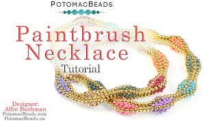 Paintbrush Necklace (Tutorial)