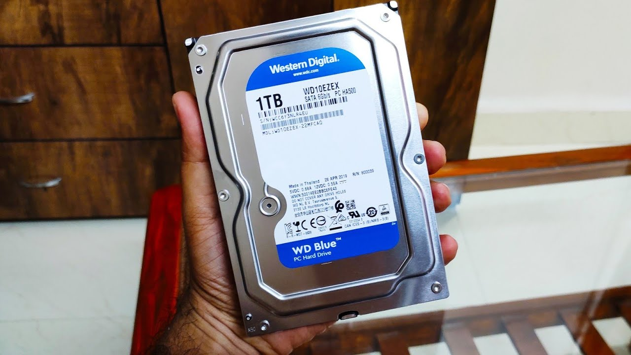 Ổ Cứng Máy Tính HDD Western 1TB Blue 7200rpm