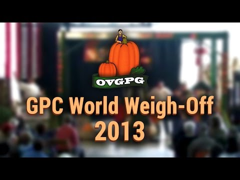 OVGPG | GPC World Weigh-Off 2013