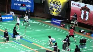 http://badland.jp/ 2011全日本総合バドミントン選手権大会2回戦.