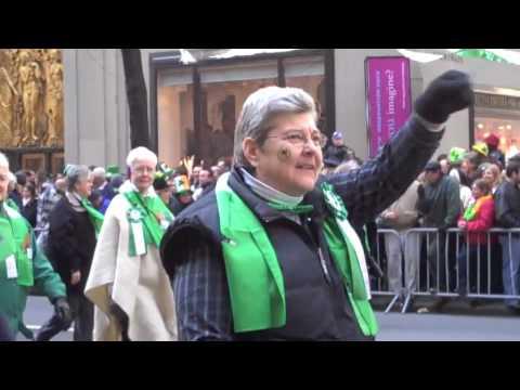 Sisters of Charity  at St. Patrick's Day Parade, NYC