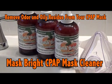 How to Clean Your CPAP Mask, Tubing, and Humidifier Chamber Quickly, Easily, and Effectively using M