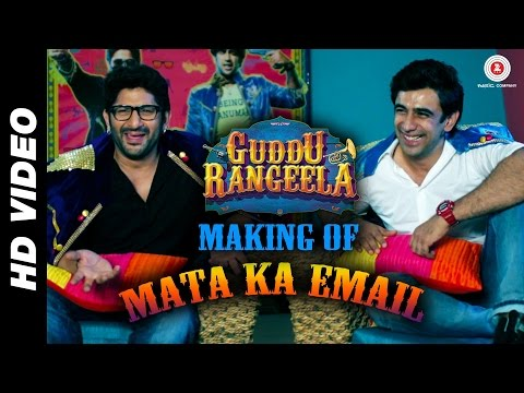 Making of Mata Ka Email - Guddu Rangeela | Arshad Warsi, Amit Sadh & Ronit Roy