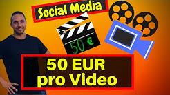 Online Geld verdienen: Social Media Videos verkaufen | einfach!