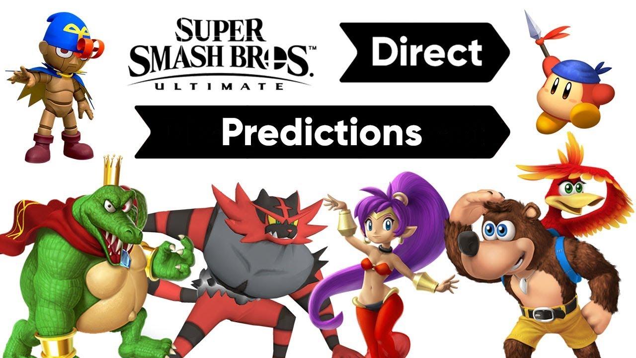MORE INFO ALREADY?! - Super Smash Bros. Ultimate 8.8.18 PREDICTIONS!