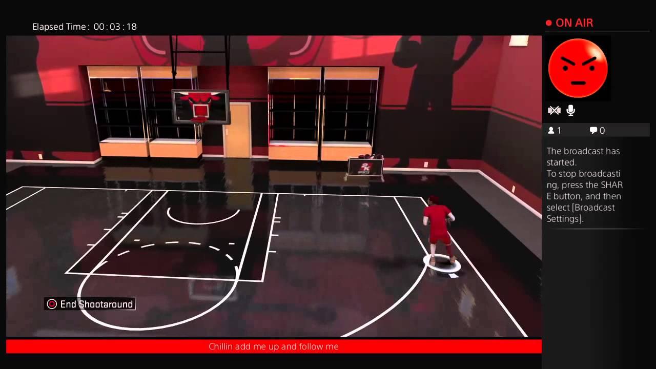 Nba 2k16 My Court I Unlock The Chain Nets And Bulls Basketball Youtube