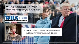 Donna Arp Weitzman LIVE on Radio discussing the President & Relationships