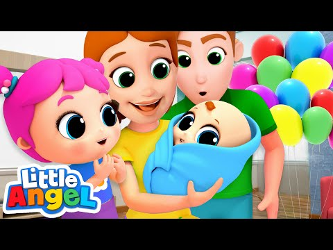 Meet Our Baby Brother! New Baby Song | Nursery Rhymes by Little Angel