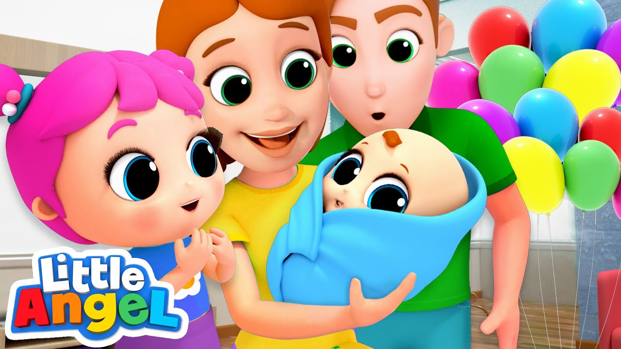 Download Meet Our Baby Brother! New Baby Song   Nursery Rhymes by Little Angel
