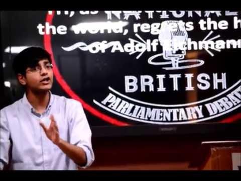 Finals: 1st NLUO British Parliamentary Debate