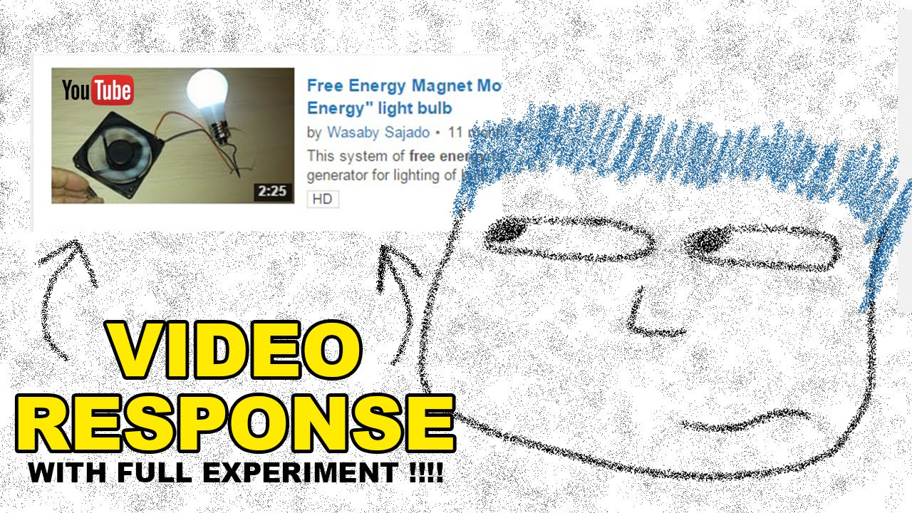 Re free energy magnet motor fan used as free energy for Free energy magnet motor fan