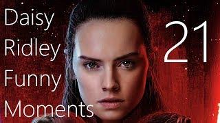 Daisy Ridley Funny Moments 21