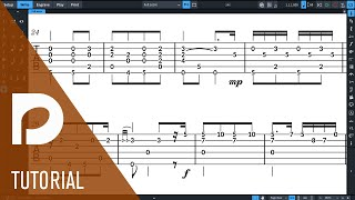 Tablature for Fretted Instruments | New Features in Dorico 3