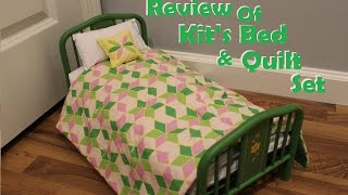Opening/review Of Kit's Bed And Quilt Set!