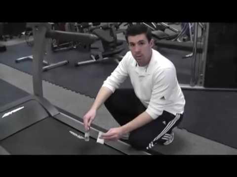 Waxing Treadmill Deck-New Hampshire Commercial Fitness Equipment
