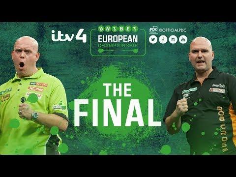 2017 European  Darts Championship Final van Gerwen vs Cross