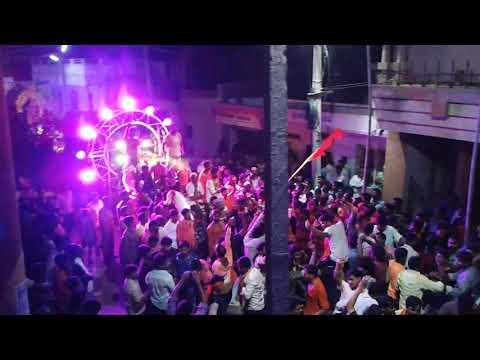 GANPATHI VISARJAN  KHANTOTA ONI GADAG 2017  By Shree Ram Sena Gadag/Raju Khanappanavr Hindu Huli .