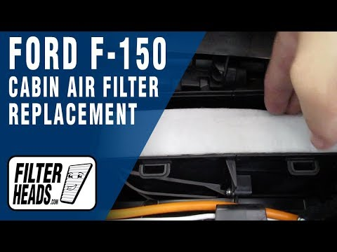 How to Replace Cabin Air Filter 2016 Ford F-150