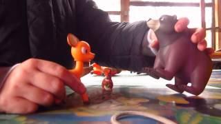 мультфильм про животных леса и доброго охотника