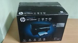 HP LASERJET PRO MFP Printer M126nw Unbox Review I Tamil Wonder Channel